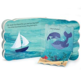Little Blue Boat Ocean Lift-a-Flap Book