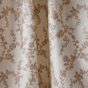Laura Ashley Lifestyles Victoria Window Valance - 86'' x 15''