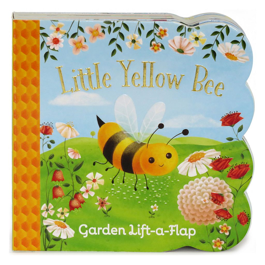 Little Yellow Bee: Lift-a-Flap Board Book by Cottage Door Press