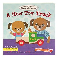 A New Toy Truck: Touch & Feel Board Book by Cottage Door Press