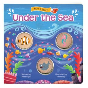 Under the Sea: Turn & Learn Board Book by Cottage Door Press