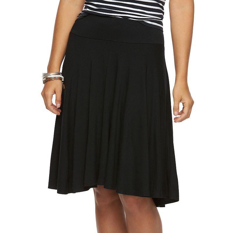 Women's Chaps A-Line Skirt