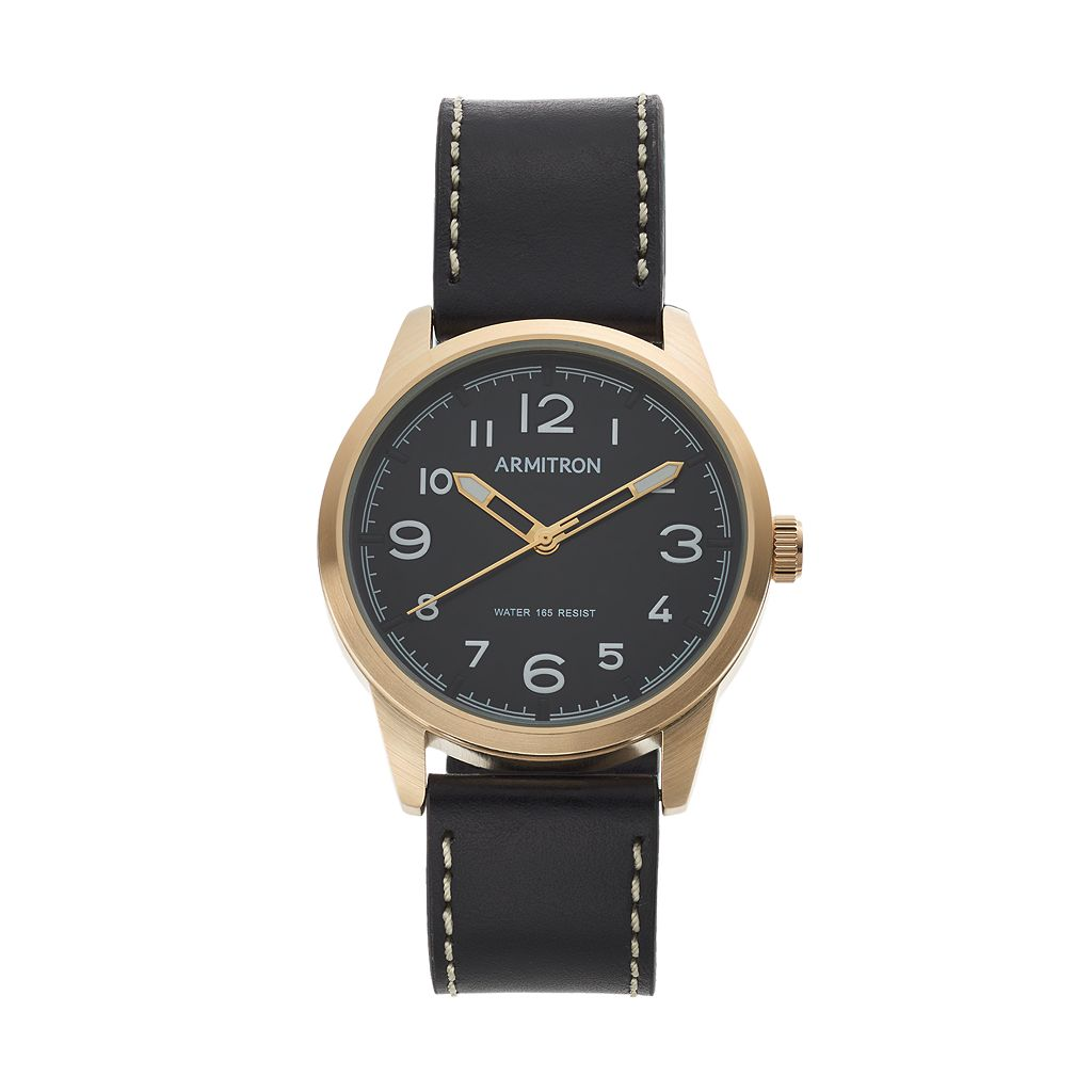 Armitron Men's Leather Watch