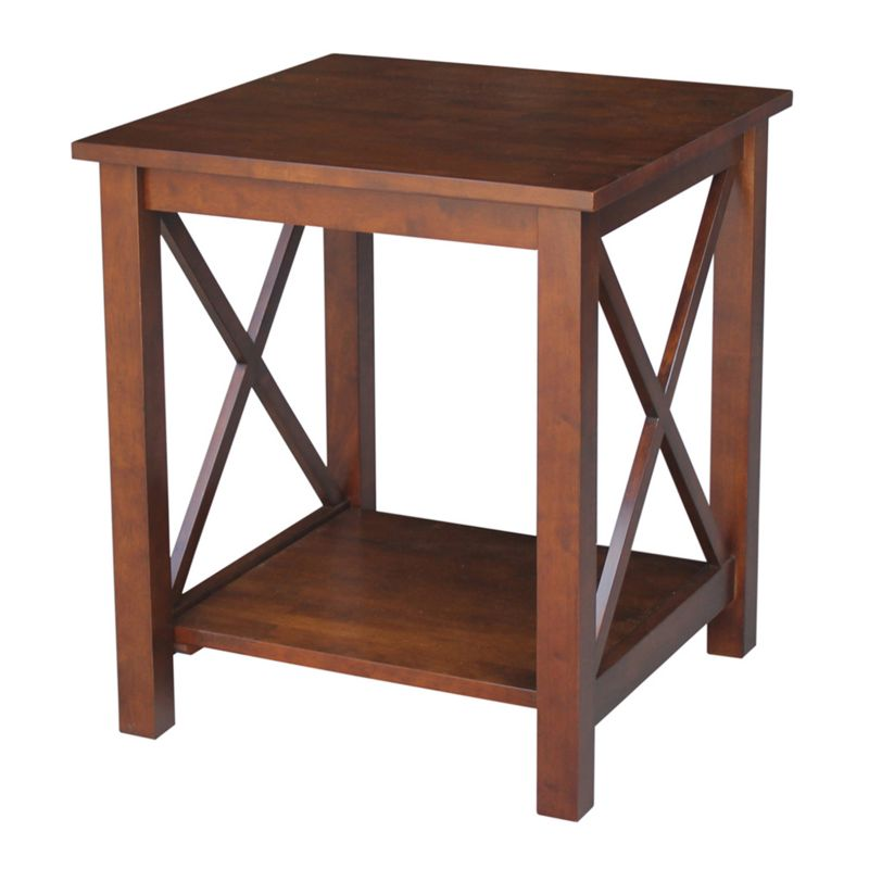 International Concepts Hampton End Table, Brown