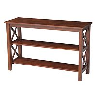 International Concepts Hampton Console Table