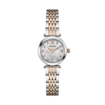 Bulova Women's Diamond Stainless Steel Watch - 98P156