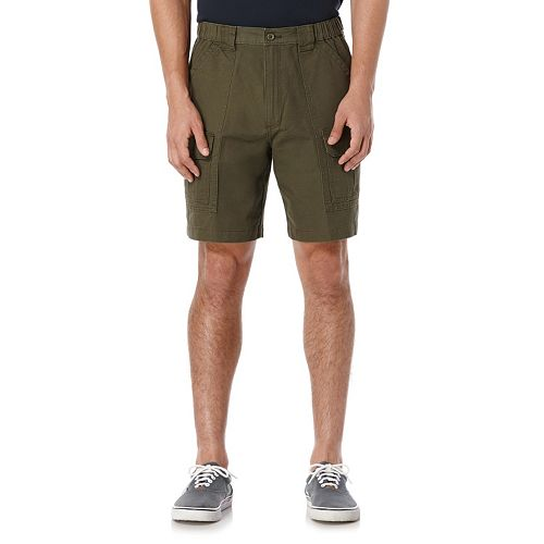 Big & Tall Savane Classic-Fit Easy-Care Canvas Hiking Shorts