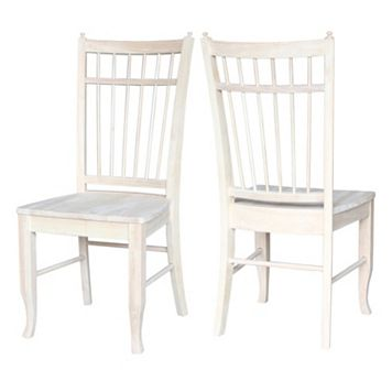 International Concepts Birdcage Dining Chair 2-piece Set