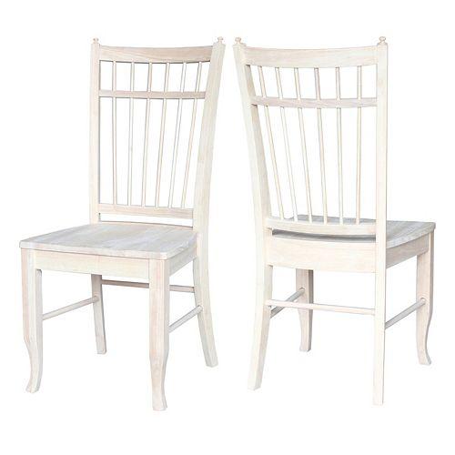 International Concepts Birdcage Dining Chair 2-piece Set