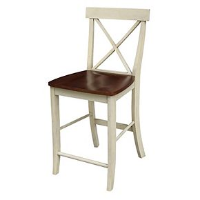 International Concepts X-Back Counter Stool