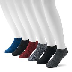 Men's Tek Gear® 6-pack Performance No-Show Socks