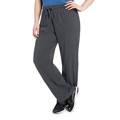 Plus Size Champion Jersey Workout Pants