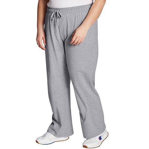 Plus Size Champion Jersey Workout Pants