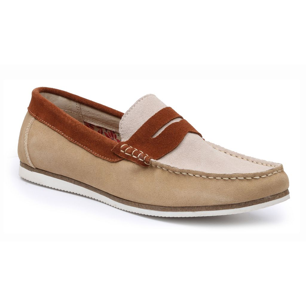 GBX Men's Suede Loafers