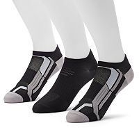 Men's Tek Gear® 3-pack Low-Cut Performance Socks