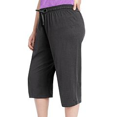 Plus Size Champion Jersey Capris