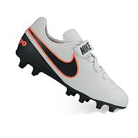 Nike Jr. Tiempo Rio III V Firm Ground Kids' Soccer Cleats