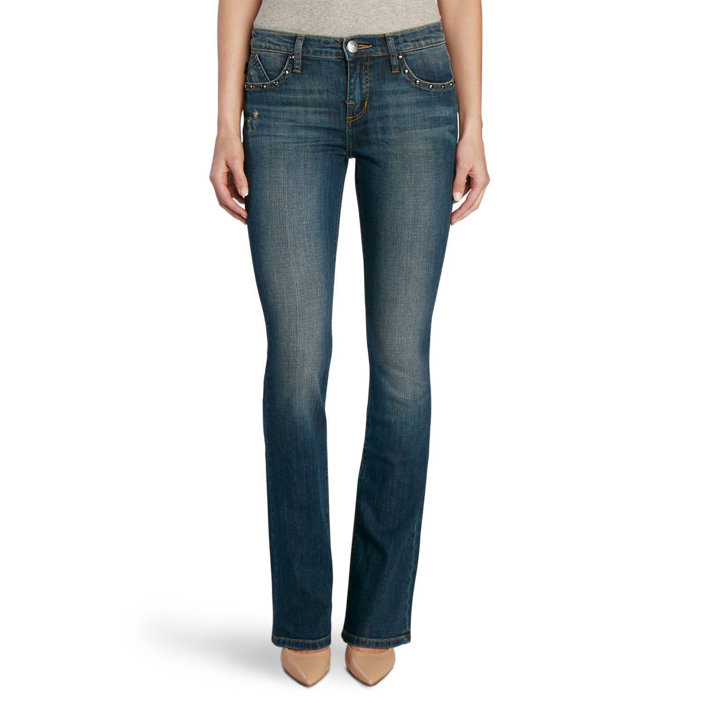 Womens Rock & Republic? Kassandra Studded Bootcut Jeans