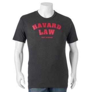 "Big & Tall Fifth Sun ""Havard Law Just Kidding"" Tee"