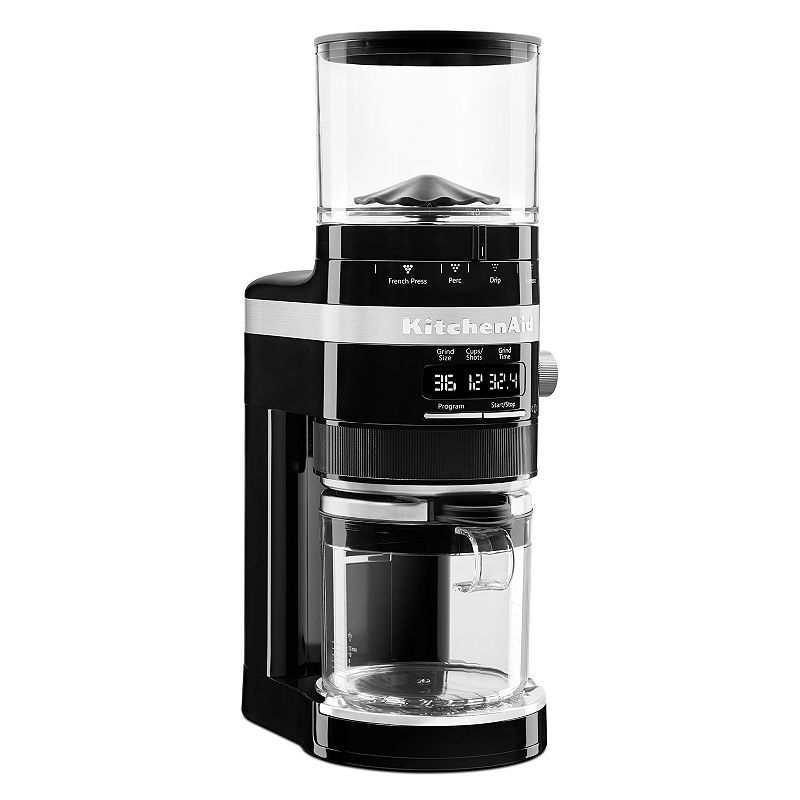 KitchenAid KCG0702 Coffee Burr Grinder, Black