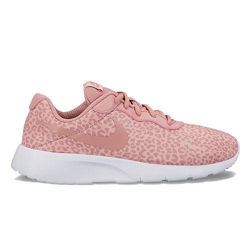 Nike Tanjun Print Grade School Girls' Athletic Shoes