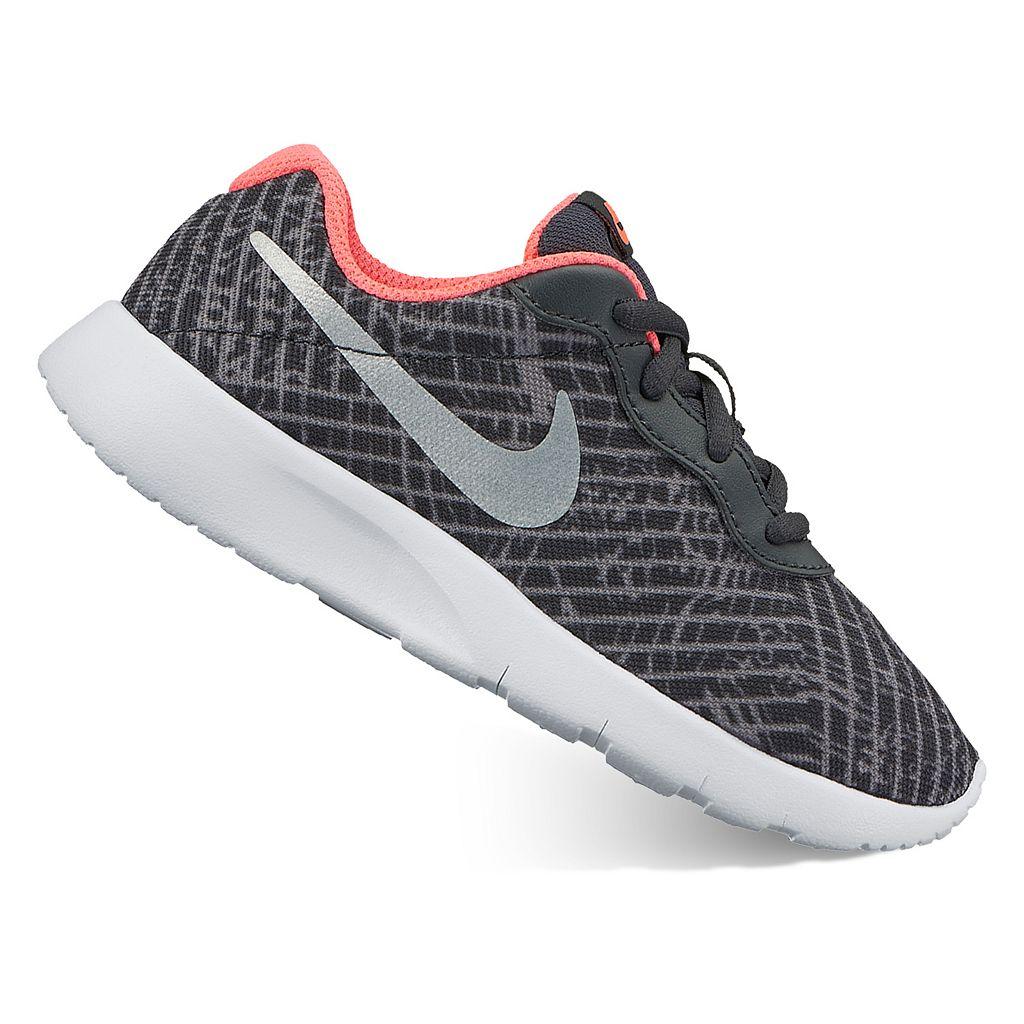 Nike Tanjun Print Pre-School Girls' Athletic Shoes