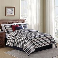 Home Classics® Rugby Stripe 7 pc Bed Set