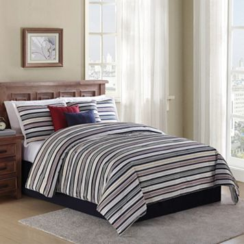 Home Classics® Rugby Stripe 7-piece Bed Set