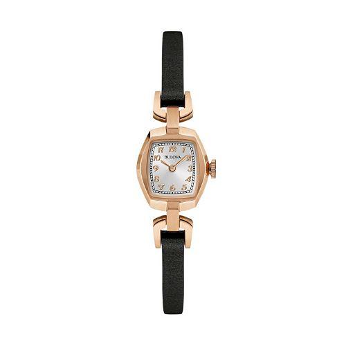 Bulova Women's Classic Leather Watch