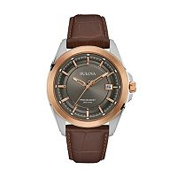 Bulova Men's Precisionist Leather Watch - 98B267