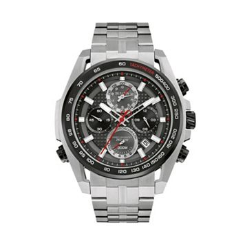 Bulova Men's Precisionist Stainless Steel Chronograph Watch - 98B270