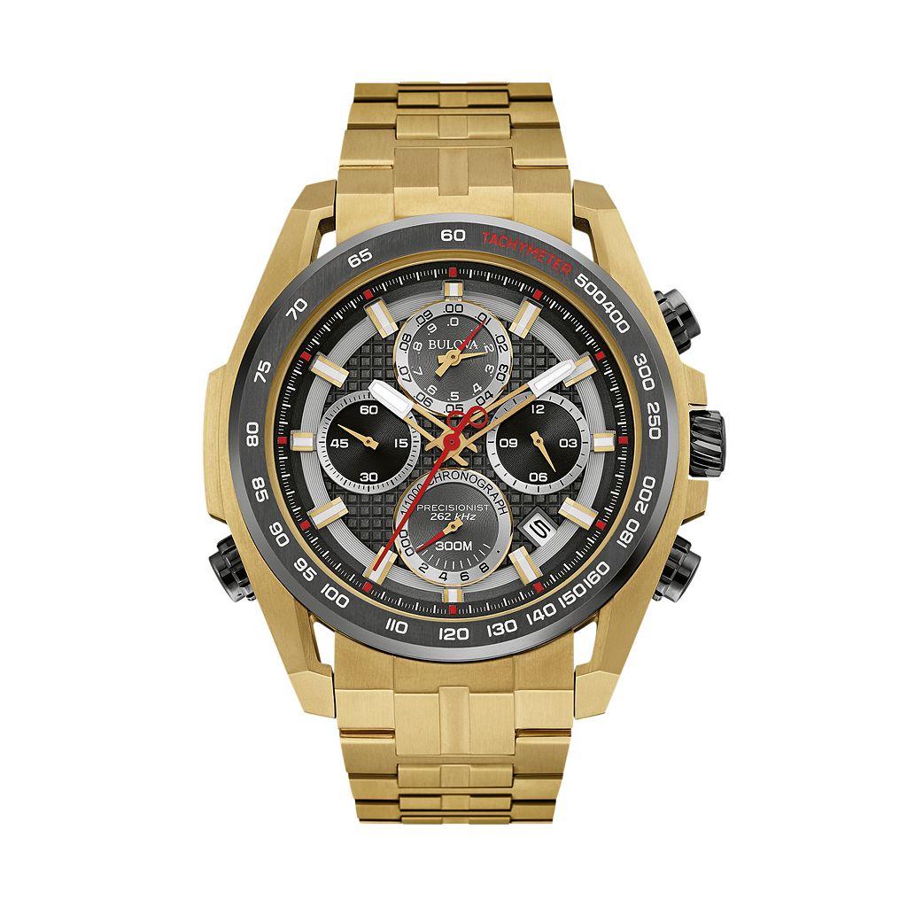 Bulova Men's Precisionist Stainless Steel Chronograph Watch - 98B271