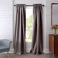 Heritage Landing 2-pack Ironwork Lattice Window Curtains