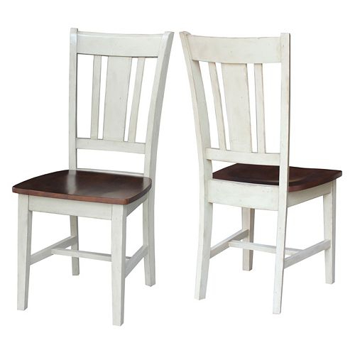 International Concepts San Remo Dining Chair 2-piece Set
