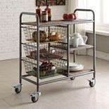 4D Concepts Urban Collection Kitchen Cart