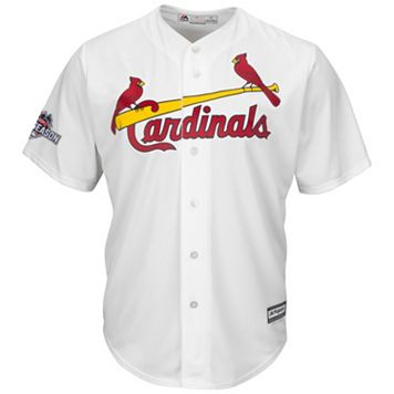 Big & Tall Majestic St. Louis Cardinals Cool Base Replica Jersey