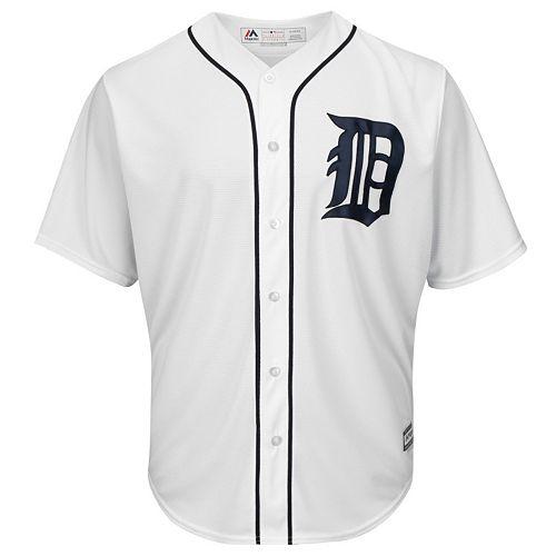 8d78eb64f65 Big   Tall Majestic Detroit Tigers Cool Base Replica Jersey