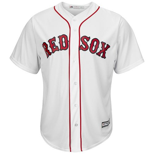 Big & Tall Majestic Boston Red Sox Cool Base Replica Jersey