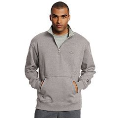 Men's Champion Fleece Powerblend Quarter-Zip Pullover