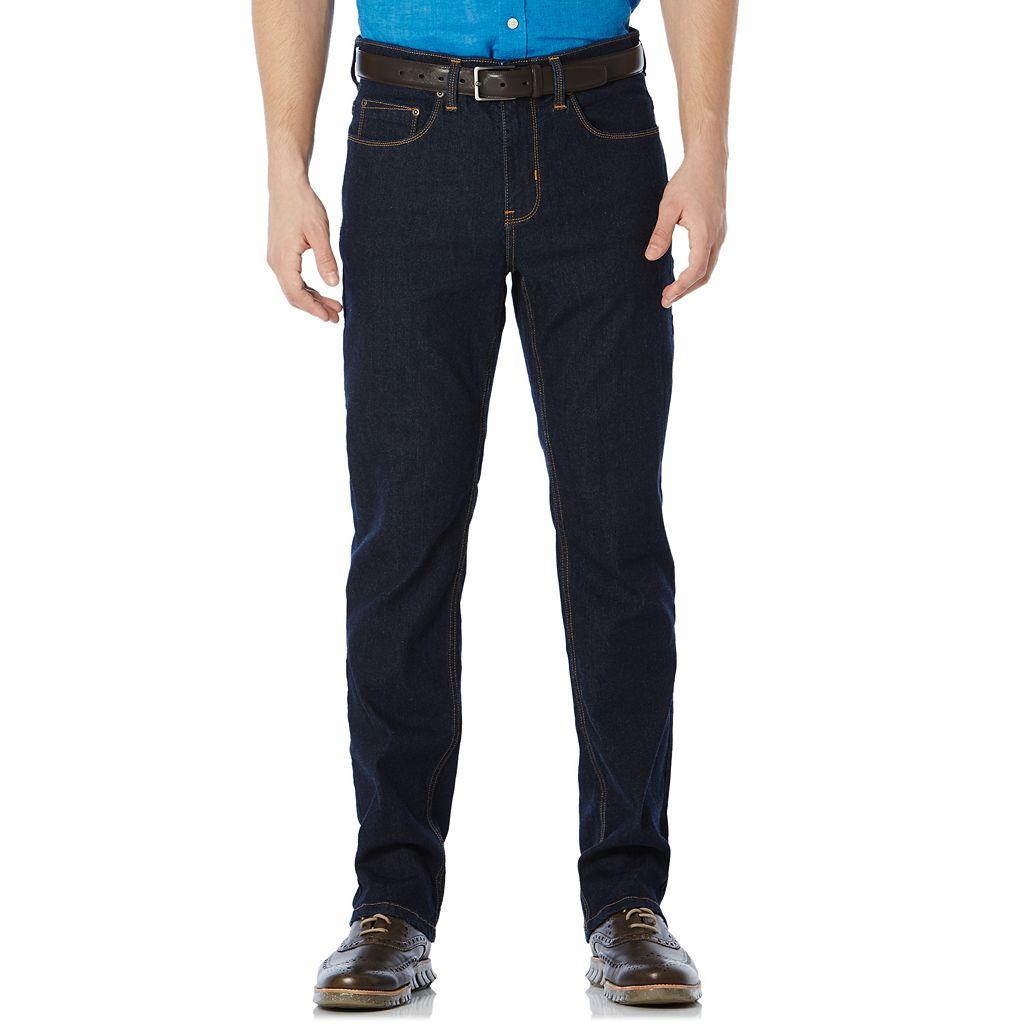 Big & Tall Savane Straight-Fit Active Flex Denim Pants