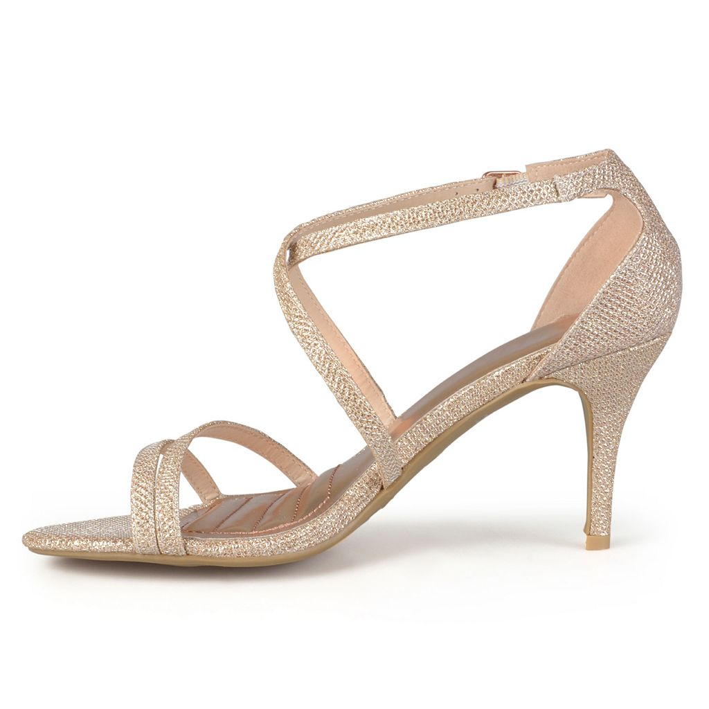 Journee Collection Lux Women's Strappy High Heels