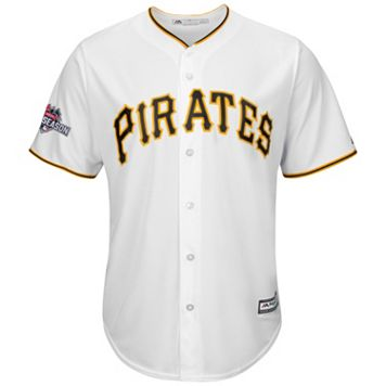 Big & Tall Majestic Pittsburgh Pirates Cool Base Replica Jersey