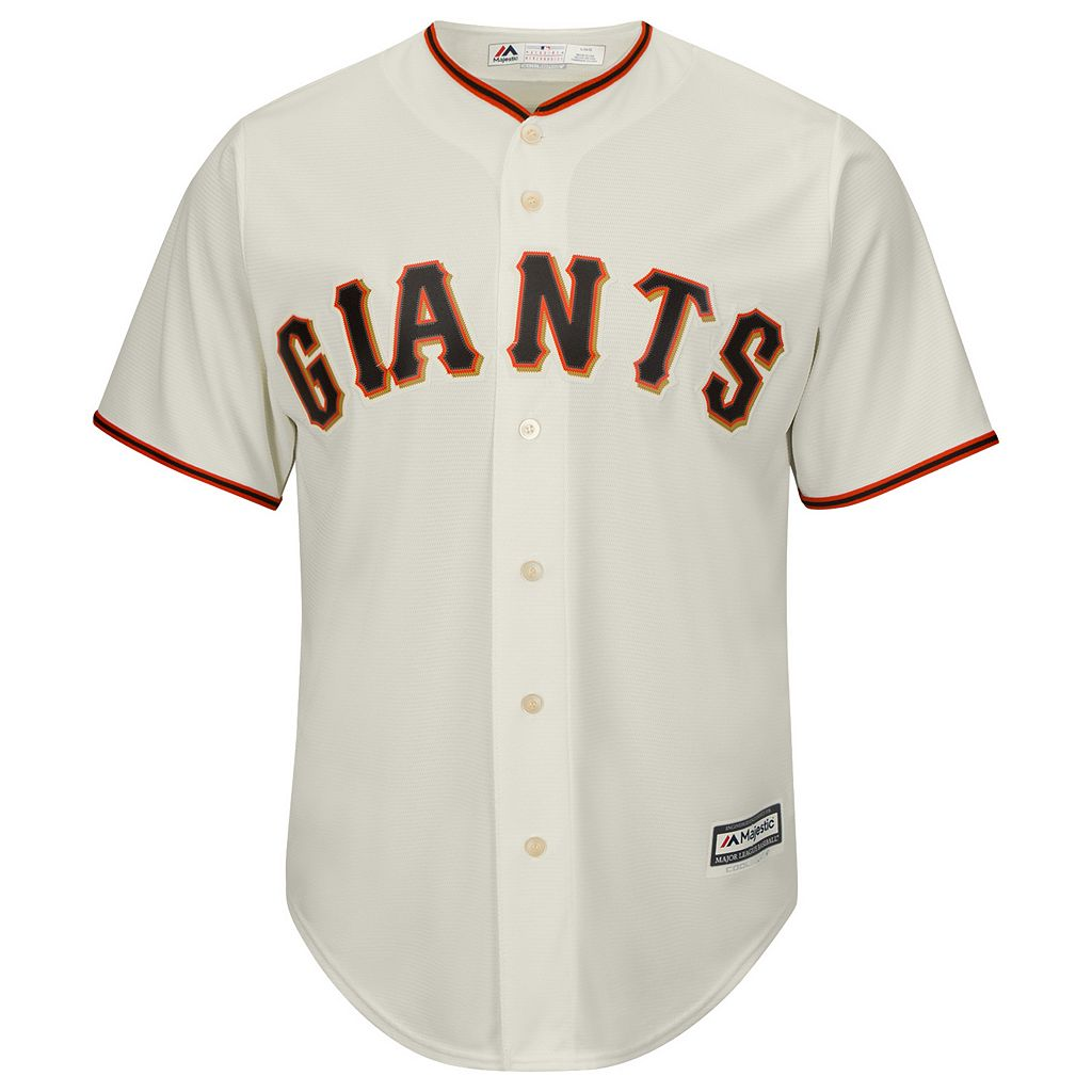 Big & Tall Majestic San Francisco Giants Cool Base Replica Jersey
