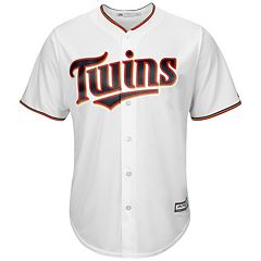 Big & Tall Majestic Minnesota Twins Cool Base Replica Jersey