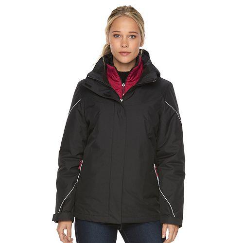 Women S Zeroxposur Brielle Hooded 3 In 1 Systems Jacket