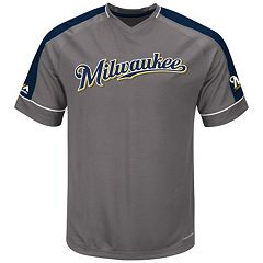 Big & Tall Majestic Milwaukee Brewers Dominant Campaign Tee
