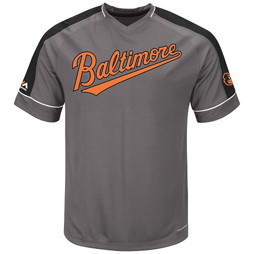 Big & Tall Majestic Baltimore Orioles Dominant Campaign Tee