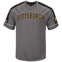 Big & Tall Majestic Pittsburgh Pirates Dominant Campaign Tee