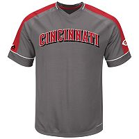 Big & Tall Majestic Cincinnati Reds Dominant Campaign Tee