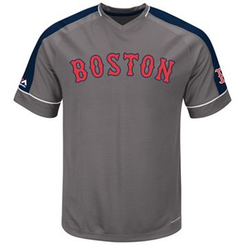 Big & Tall Majestic Boston Red Sox Dominant Campaign Tee